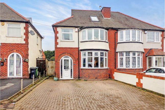 Thumbnail Semi-detached house for sale in Throne Road, Rowley Regis