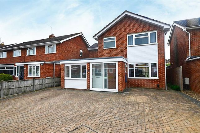 Thumbnail Detached house for sale in Warren Close, Churchdown, Gloucester