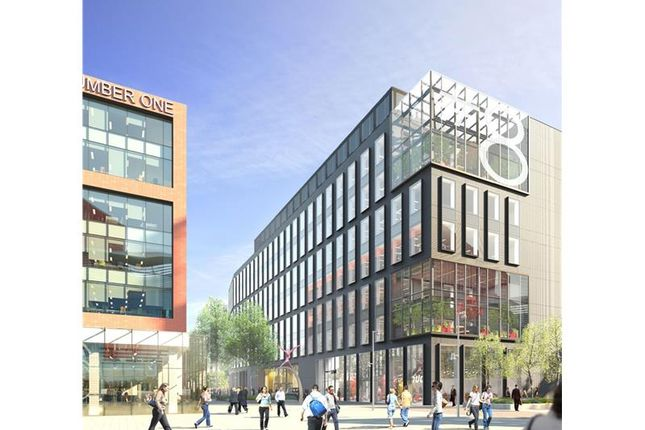 Office to let in Number 8 First Street, First Street, Manchester, Greater Manchester