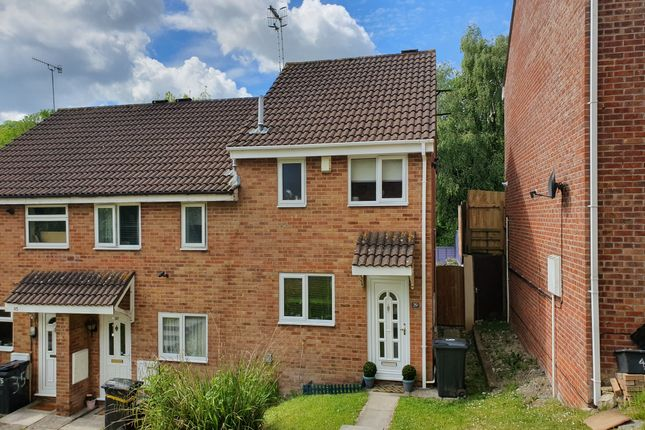 Thumbnail End terrace house for sale in The Ridings, Bishopsworth