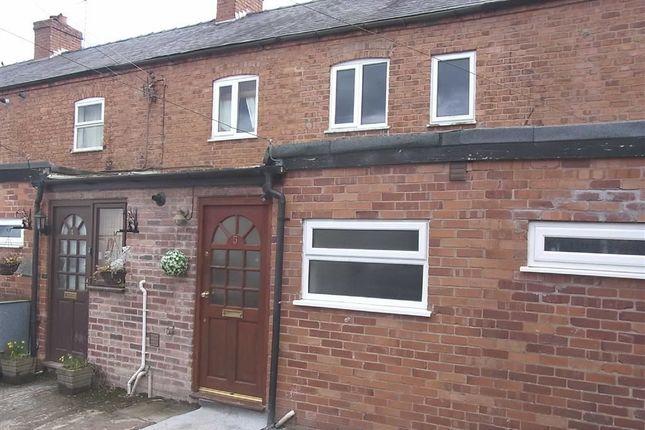 Thumbnail Terraced house to rent in 5 Bryn-Y-Castle, School Lane, Gobowen, Oswestry, Shropshire
