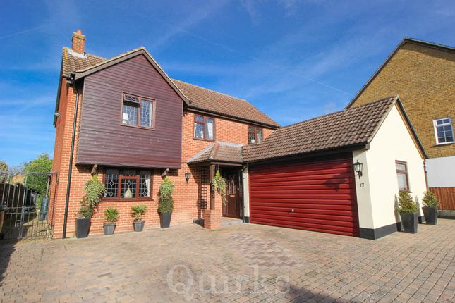 Thumbnail Detached house for sale in Smythe Road, Billericay