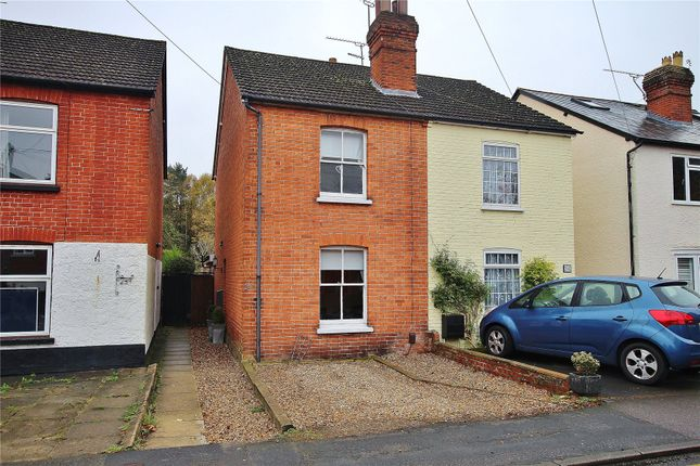 Thumbnail Semi-detached house for sale in Brookwood, Surrey