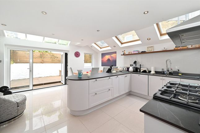 Thumbnail Detached house for sale in Hartismere Road, Fulham, London