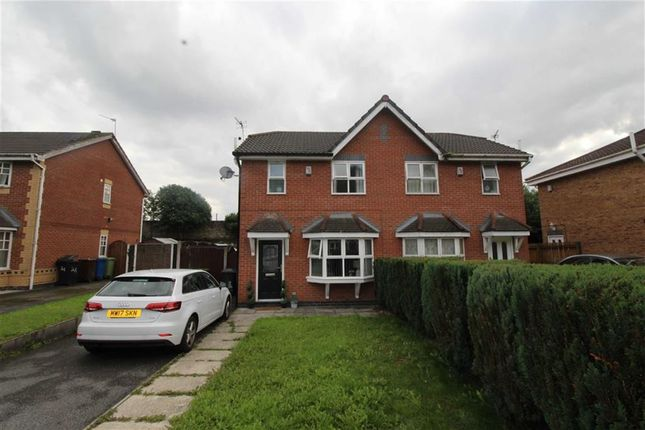 Thumbnail Semi-detached house for sale in Redbrook Road, Ince, Wigan
