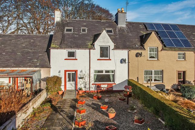 Thumbnail Terraced house for sale in Sillerburn Road, Kirkmichael, Blairgowrie