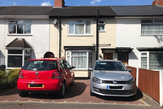 Thumbnail Terraced house for sale in Springcroft Road, Birmingham