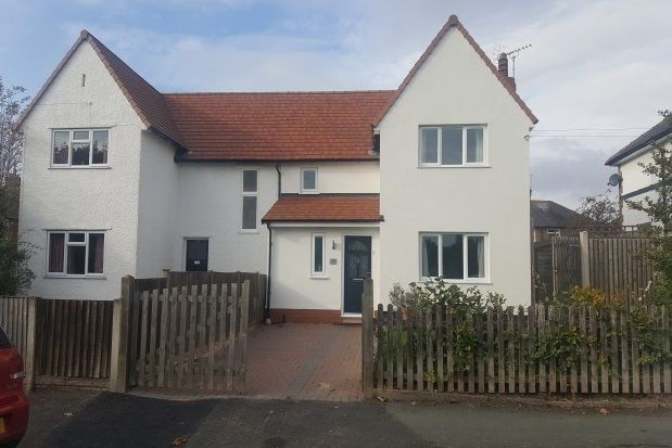 Thumbnail Semi-detached house to rent in Cross Hey, Handbridge, Chester