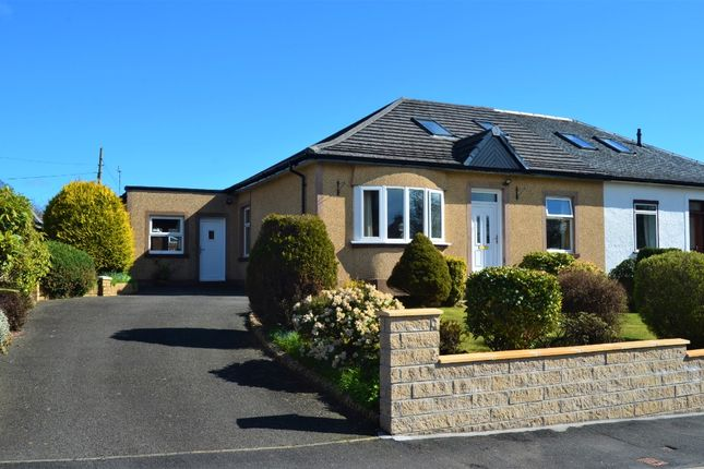 Thumbnail Semi-detached bungalow for sale in Barrs Road, Cardross, Argyll & Bute