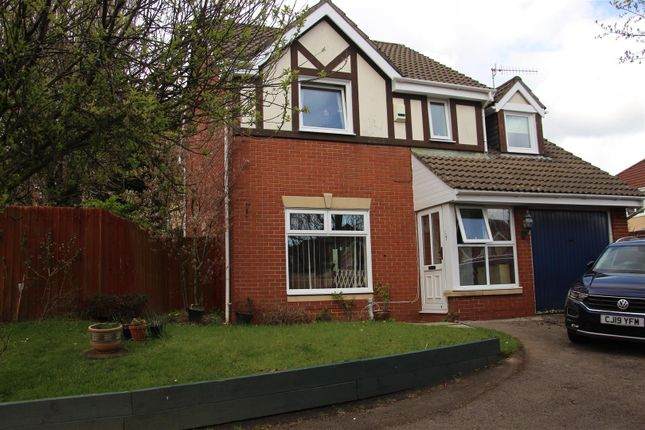 Thumbnail Detached house for sale in Badham Close, Caerphilly
