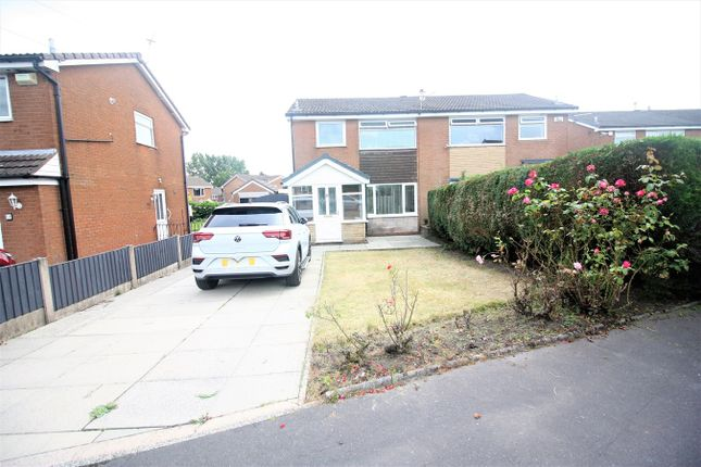 Thumbnail Semi-detached house to rent in Honiton Drive, Bolton