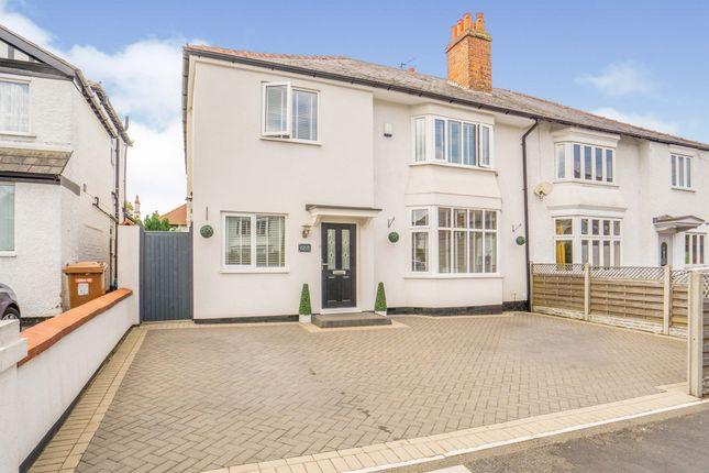 Thumbnail Semi-detached house for sale in Cambridge Road, Birkenhead