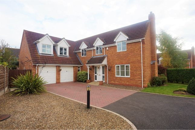 Thumbnail Detached house for sale in Ballerini Way, Saxilby
