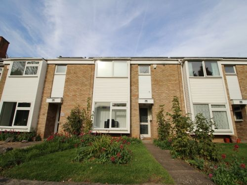 Thumbnail Terraced house to rent in 103 Greenwood Court, Upper Holly Walk, Leamington Spa