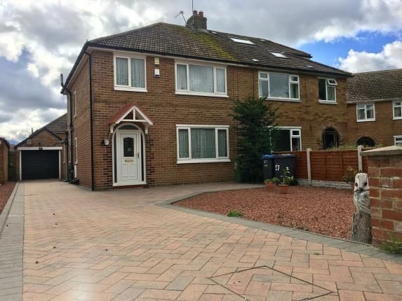 Thumbnail Semi-detached house for sale in Roseberry Avenue, Stokesley, North Yorkshire, England