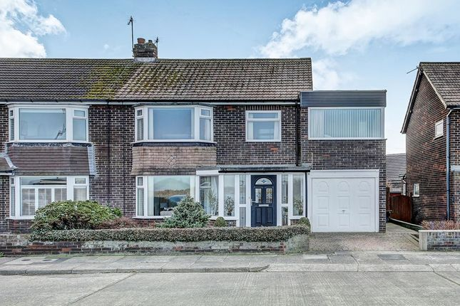 Thumbnail Semi-detached house for sale in Astley Villas, Seaton Sluice, Whitley Bay