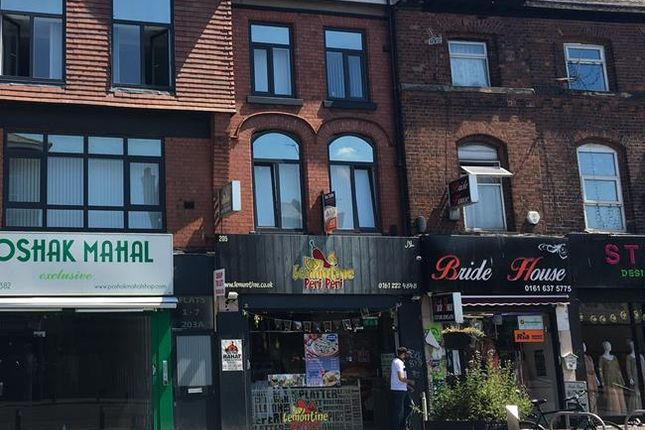 Thumbnail Retail premises for sale in 205 Wilmslow Road, Rusholme, Manchester