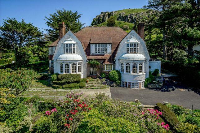 Thumbnail Detached house for sale in Gannock Park, Deganwy, Conwy, Gwynedd