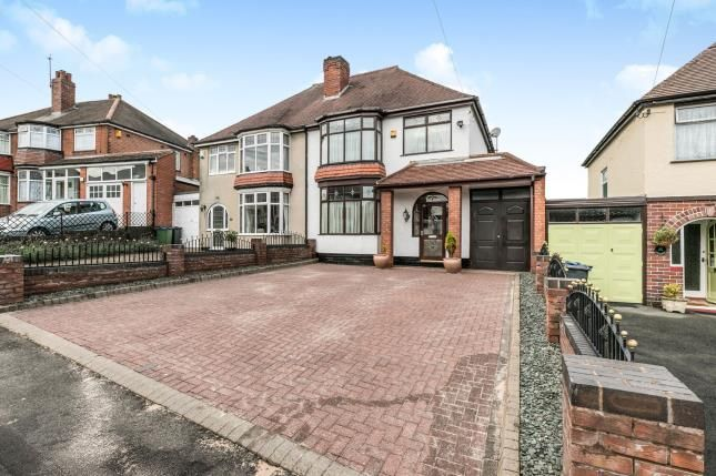 Thumbnail Semi-detached house for sale in Pitcairn Road, Birmingham, Smethwick, Birmingham
