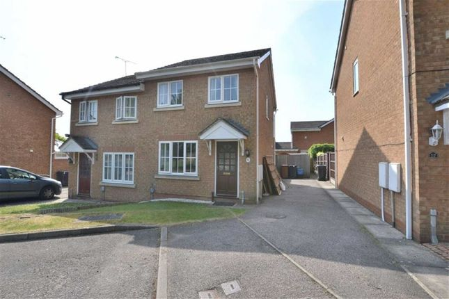 Thumbnail Semi-detached house for sale in Jackdaw Close, Stevenage, Herts