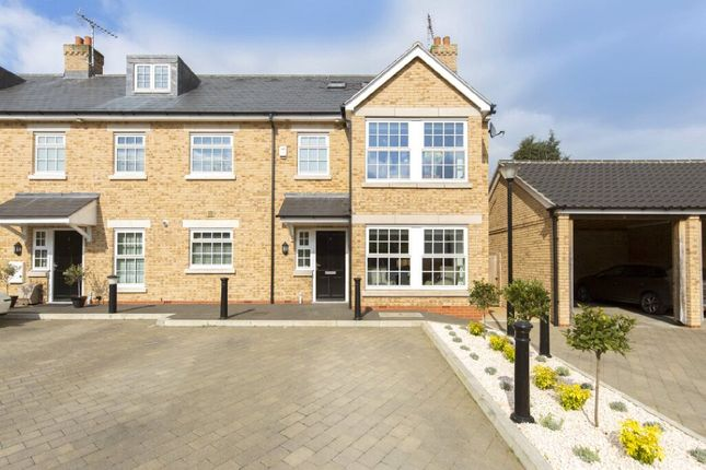 Thumbnail End terrace house for sale in Usborne Mews, Writtle, Chelmsford, Essex
