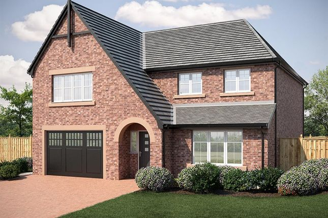 Thumbnail Detached house for sale in Kinmont Rise, Broomfallen Road, Scotby