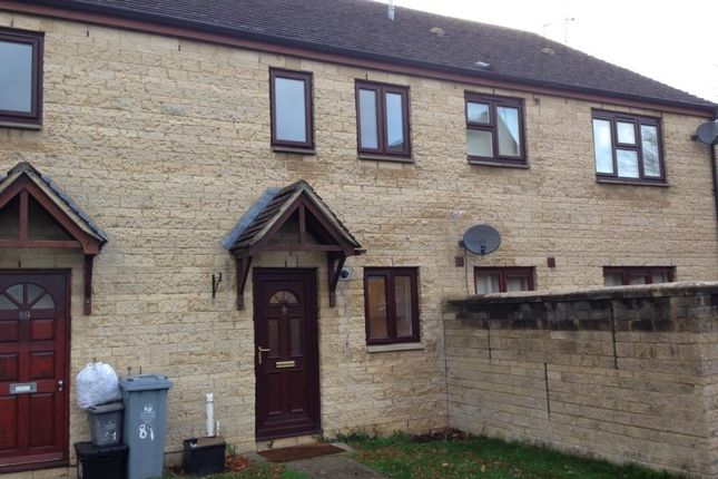 Thumbnail Terraced house to rent in Witney, Cogges