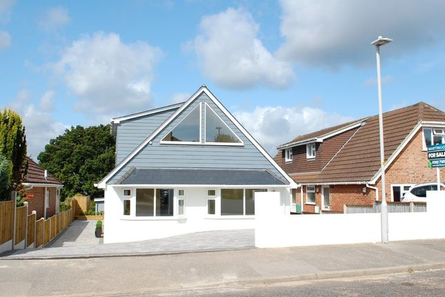 Thumbnail Detached bungalow for sale in Foxholes Road, Poole
