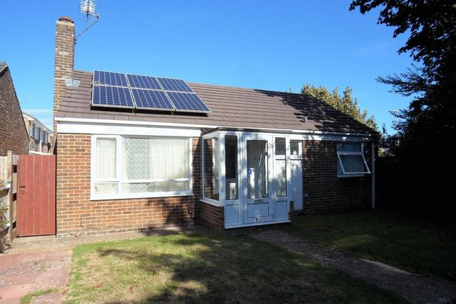 Thumbnail Bungalow for sale in Newtimber Avenue, Goring-By-Sea, Worthing