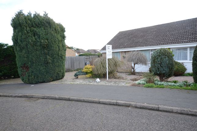 Thumbnail Semi-detached bungalow to rent in Crowson Crescent, Northborough, Peterborough