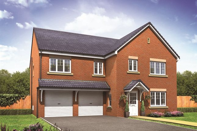 "Thumbnail Detached house for sale in ""The Compton"" at Middlewich Road, Holmes Chapel, Crewe"