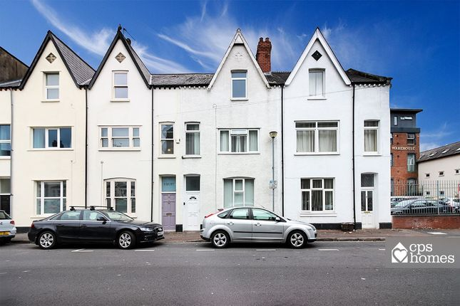 Thumbnail Terraced house for sale in Burt Street, Cardiff