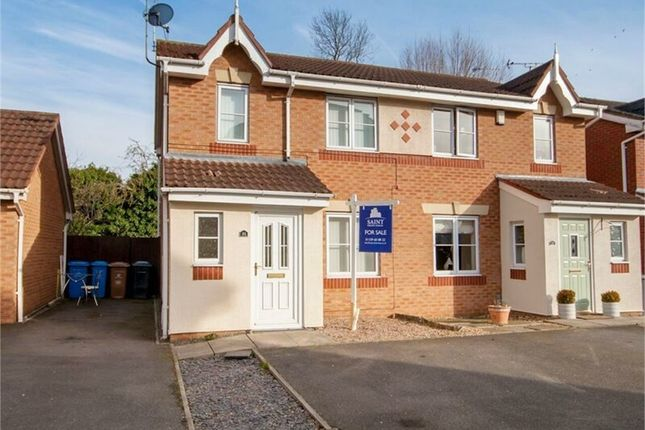 Thumbnail Semi Detached House For Sale In Willowside Green Spondon Derby
