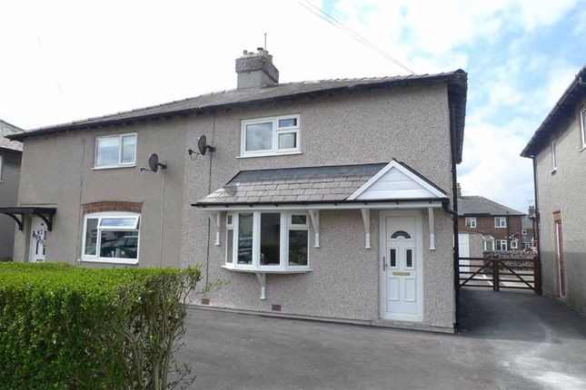 Thumbnail 3 bedroom semi-detached house to rent in Cross Street, Buxton, Derbyshire