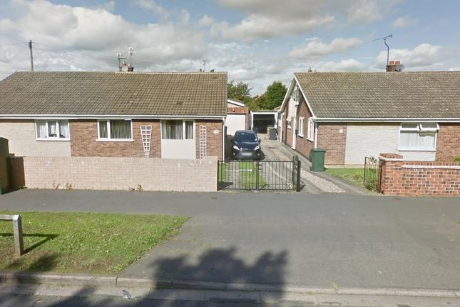 Thumbnail Semi-detached bungalow for sale in Tranmoor Lane, Armthorpe, Doncaster