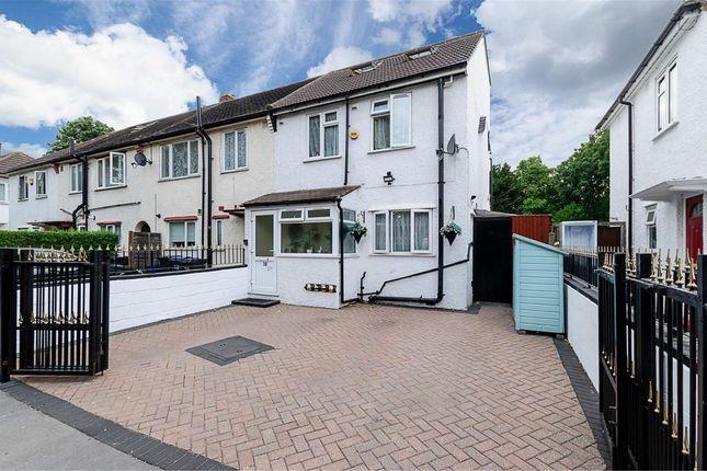 Thumbnail End terrace house for sale in Williams Terrace, Croydon