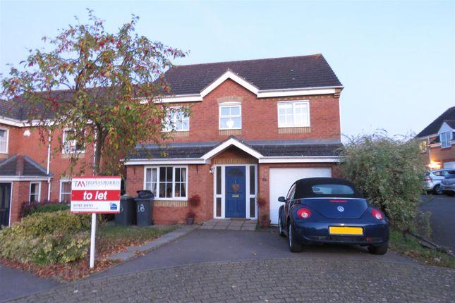 Thumbnail Detached house to rent in Garden Fields, Potton, Sandy