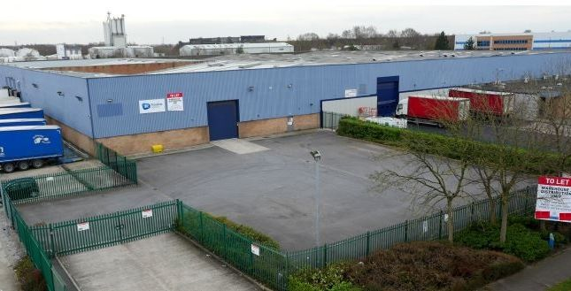 Thumbnail Industrial to let in Unit & Midway, Gilchrist Road, Irlam
