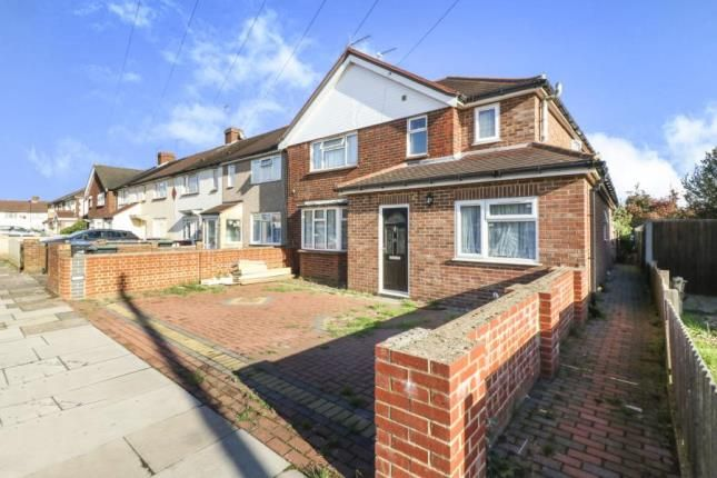 Thumbnail End terrace house for sale in Stoneleigh Avenue, Enfield, Herfordshire