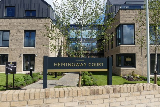 Thumbnail Flat for sale in Hemingway Court, Thornhill Road, Ponteland