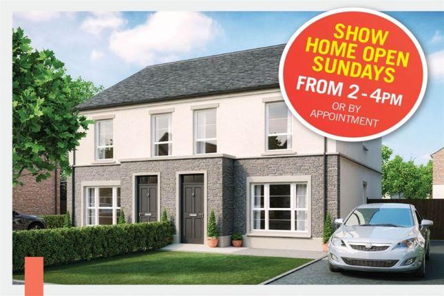 Thumbnail Semi-detached house for sale in Hadlow, High Bangor Road, Donaghadee