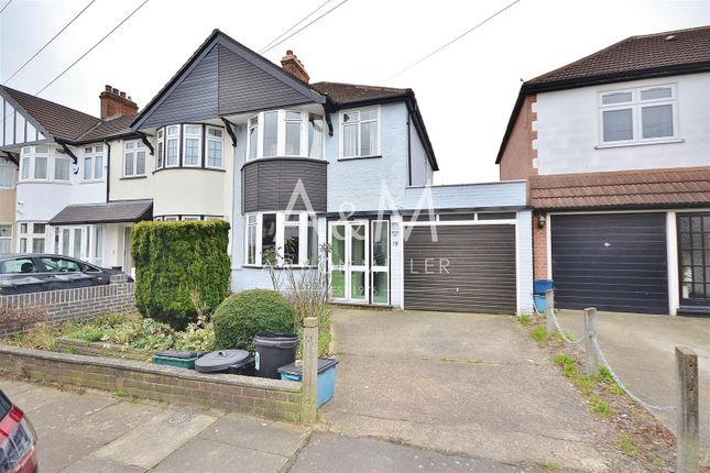 Thumbnail Semi-detached house for sale in Clifford Avenue, Ilford