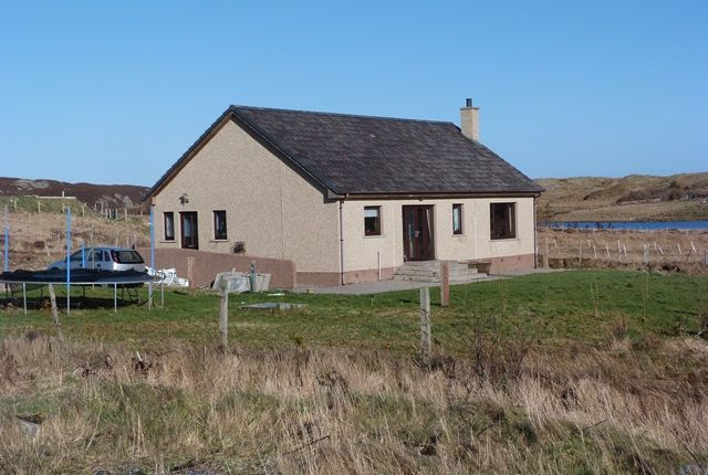 Thumbnail Detached bungalow for sale in Leurbost, Isle Of Lewis