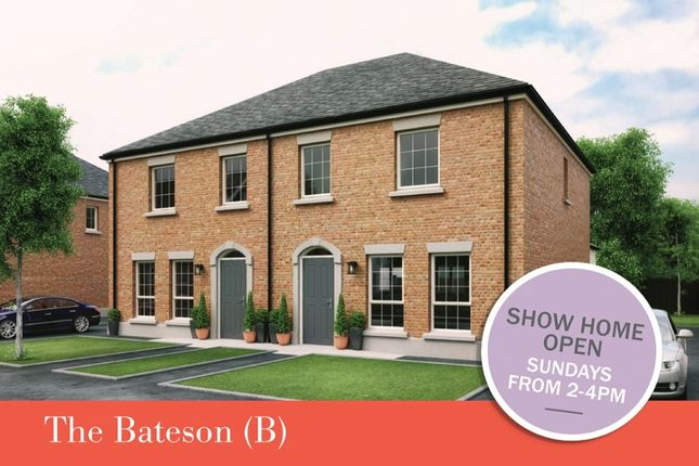 Thumbnail Semi-detached house for sale in - The Bateson (B) Dillon/Harlow Green, Meeting Street, Moira
