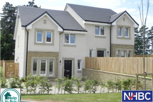 Thumbnail Semi-detached house for sale in The Cedar Holmhead Gardens, Holmhead, Hospital Road, Cumnock