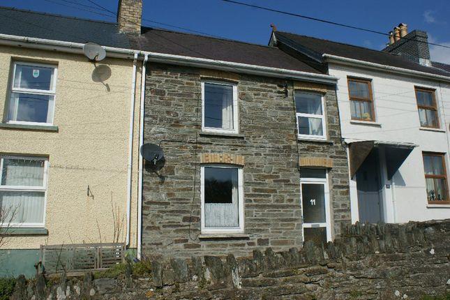 Thumbnail Terraced house for sale in Railway Terrace, Henllan