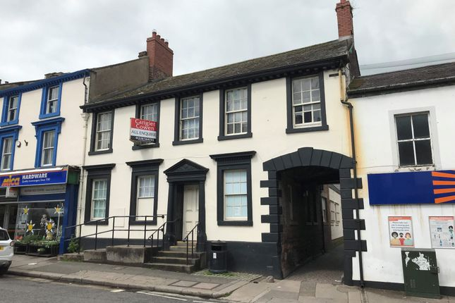 Thumbnail Office for sale in King Street, 15, Wigton