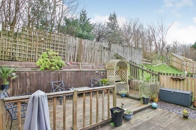 Rear Garden of Bamburgh Drive, Burnley, Lancashire BB12