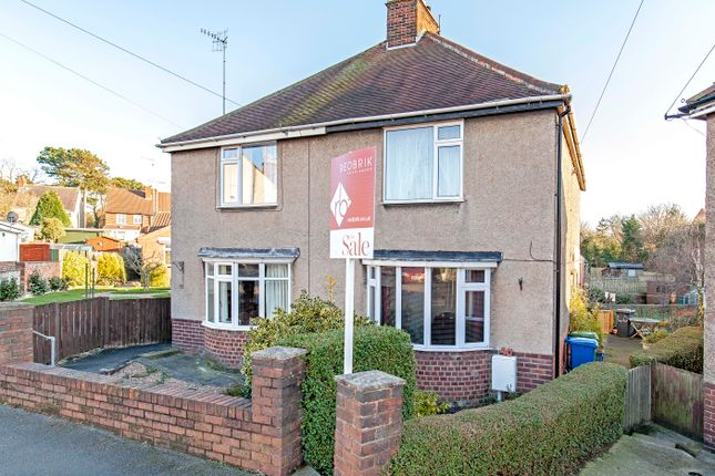 Thumbnail Semi-detached house for sale in Smithfield Avenue, Hasland, Chesterfield