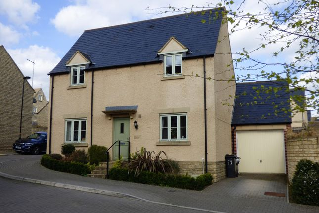 Thumbnail Detached house for sale in Savory Way, Cirencester, Gloucestershire